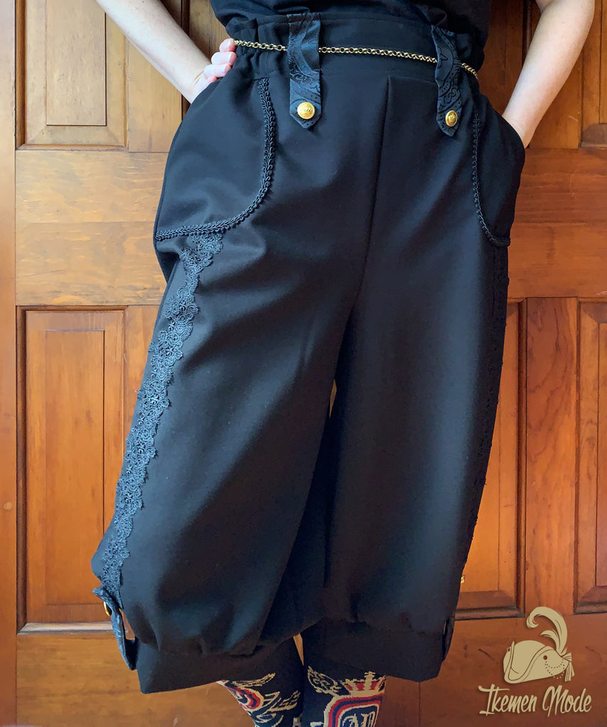 Bishop Breeches - Black