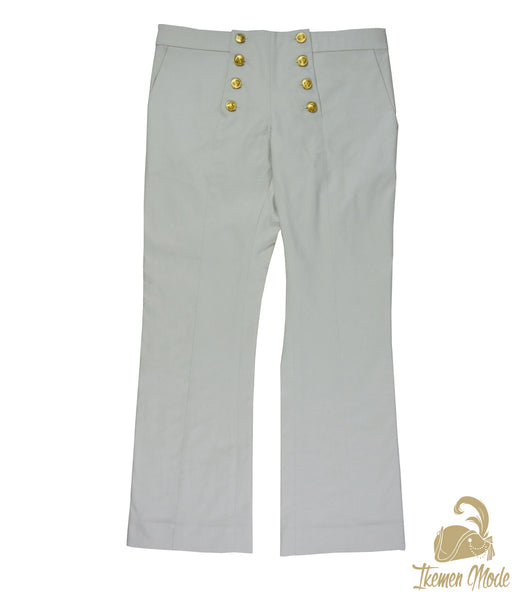 King's Side Bishop Pants - Ivory