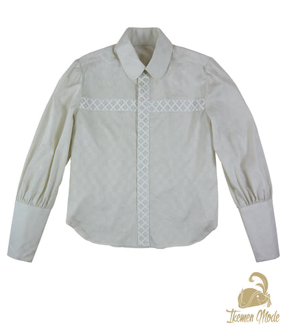 King's Side Bishop Shirt - Ivory