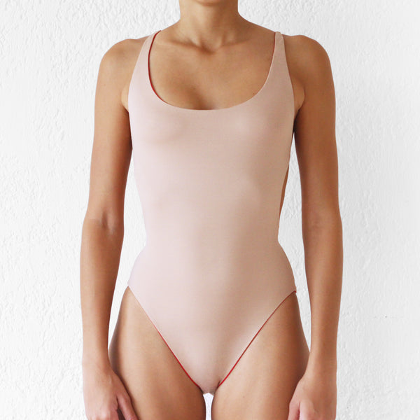 Jolee One Piece Nude - Red