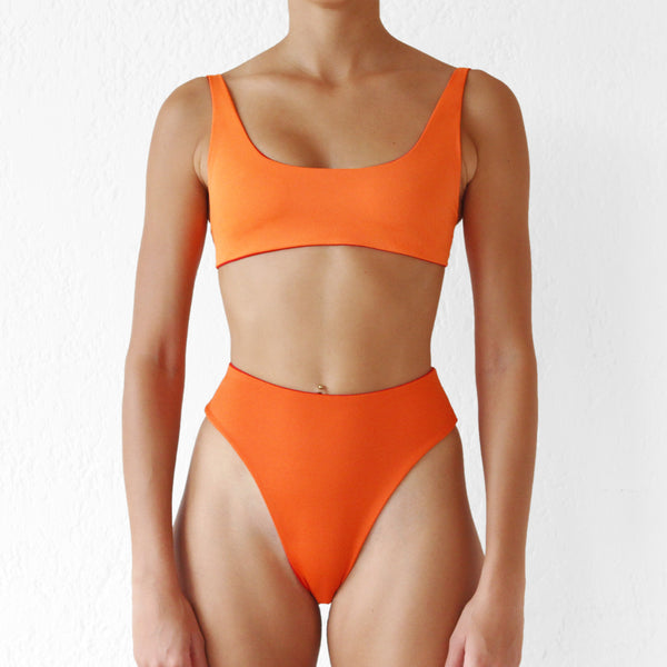 Akila Top Orange - Red