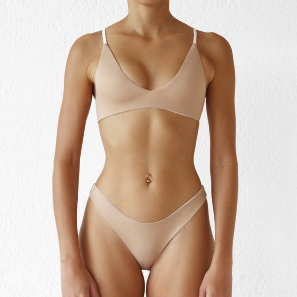 Solast Top Ivory-Nude