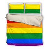 LGBT Flag Bed Set