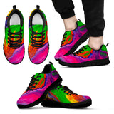 Dripping Rainbow Unisex Sneakers