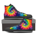 Swirl Rainbow Unisex High Top Shoes