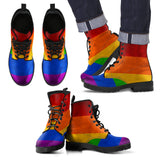Retro Eco-Friendly Leather Pride Boots