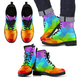 Ice Rainbow Eco-Friendly Leather Boots