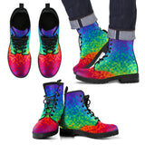 Pixel Rainbow Eco-Friendly Boots