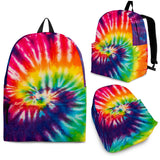 Abstract Swirl Rainbow Backpack