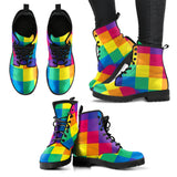 Rainbow Cube Eco-Friendly Boots