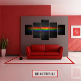 Color Our World Pride 5 pcs Wall Art Print Painting
