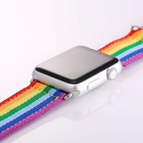 Rainbow Watch Band For The Apple Watch