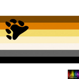 Pride Bear Flag