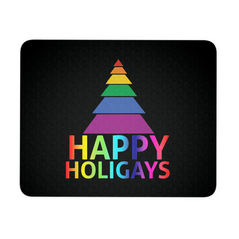 Happy Holigays Mousepad