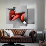 """The Kiss"" Wall Art Painting"