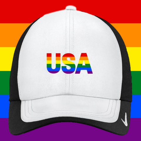4c764900ba Rainbow USA Nike Cap – DealClever