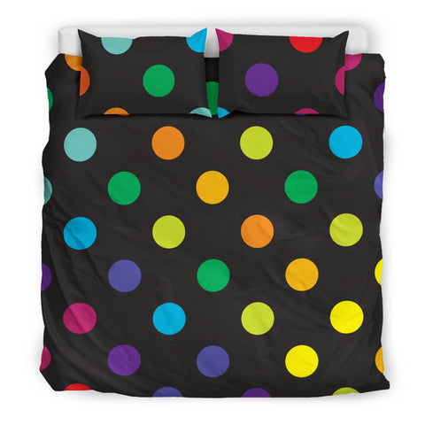 Rainbow Spots Bed Set