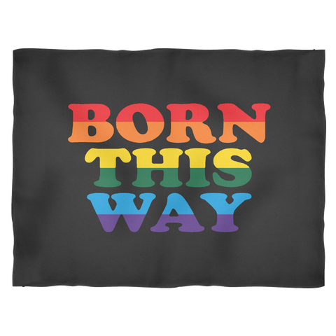 Born This Way Black Blanket
