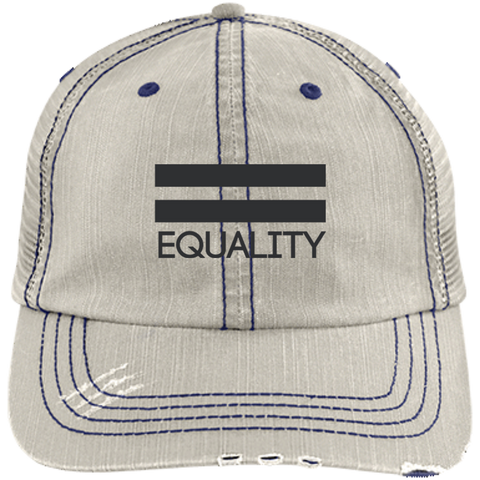 Equality Distressed Cap