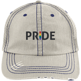 Pride Distressed Cap