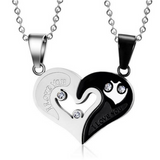 "Heart ""I Love You"" Pendant Necklace"