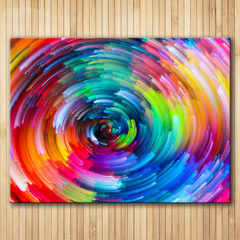 Circle Rainbow Wall Art