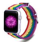 Rainbow Watch Band for Apple