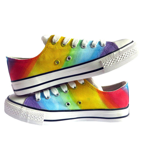 Rainbow Low Cut Shoes
