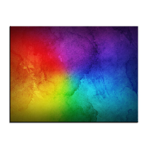 Rainbow Wall Art Painting