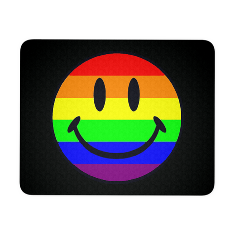 PRIDE HAPPY FACE MOUSEPAD