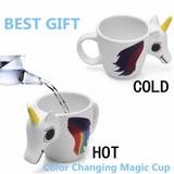 Happy Reveal Rainbow Unicorn Mug