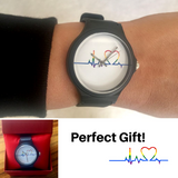 Rainbow Heartbeat Watch