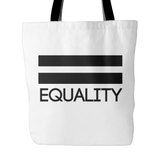 Pride LGBT Equality White Tote Bag