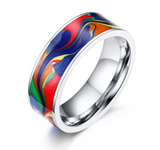 Outline Rainbow Ring