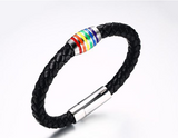 LGBT Pride Unisex Rainbow Bangle Bracelet