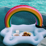 Tiki Rainbow Drink Holder