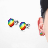 Piece of Rainbow™ Stud Earrings