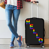Hello Pride Luggage Covers