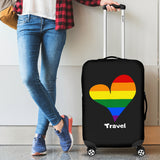 Love Pride Travel Luggage Covers
