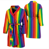 Pride Lines Men's BathRobe