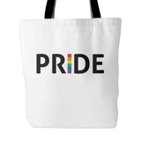 LGBT Pride White Tote Bag
