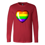 Pride Rainbow Heart Sweatshirt