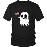 LGBT Pride Ghost Halloween T-Shirt