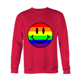 Pride Rainbow Happy Face T-Shirt