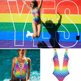 Rainbow Swimsuit