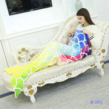 Mermaid Tail Rainbow Blanket