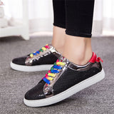 Luxury Rainbow Casual Women Shoes