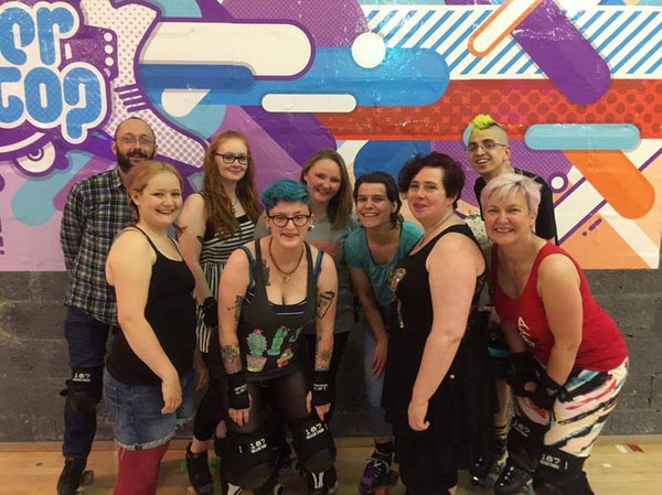 New Town Roller Girls at Roller Stop