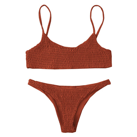 Celina Bikini Set - Orange