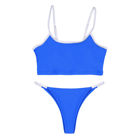 Kate Tank Bikini Set - Blue